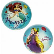 Купить мяч 1toy disney принцессы бэль и золушка, диаметр 23 см ( id 16082146 )