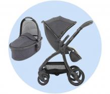 Купить прогулочная коляска egg stroller c люлькой carrycot
