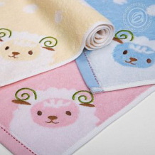 Купить полотенце артпостелька овечка 37 х 75 см, цвет: желтый ( id 11066030 )