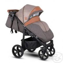 Купить прогулочная коляска camarelo elix, цвет: карамельный меланж/коричневая экокожа ( id 10515275 )