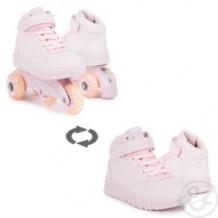 Купить кроссовки-роллеры kdx, цвет: розовый ( id 11779588 )