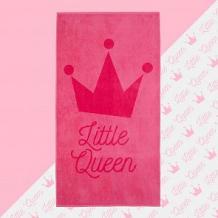 """Купить полотенце махровое \""""little queen\"""" 70х130 см ( id 12711388 )"""