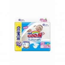 Купить goon подгузники nв (0-5 кг) 114 шт. 853179/853500