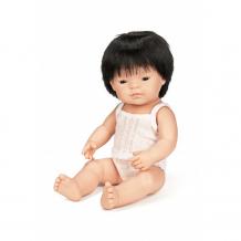 Купить miniland кукла мальчик азиат 38 см 31155