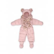 Купить happy baby комбинезон для девочки с меховым шарфом 89007