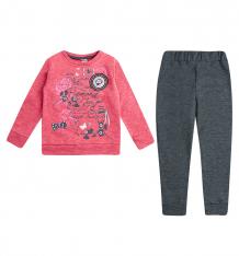Купить комплект джемпер/брюки bidirik, цвет: коралловый 123