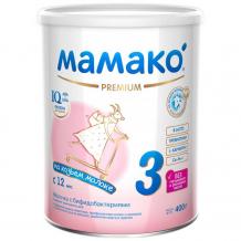 Купить мамако 3 молочная смесь на основе козьего молока 400 г 00000006