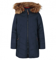 Купить пальто luhta kitte, цвет: синий ( id 7075009 )