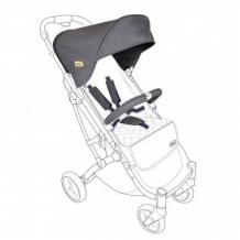 Купить тканевый комплект для коляски squizz 3 looping dark grey, темно-серый looping 997089037