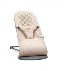 Купить кресло-шезлонг babybjorn bouncer bliss cotton, pink sprinkles babybjorn 997095502