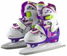 Купить atemi коньки раздвижные ice girl aksk-17.01 ice girl