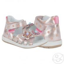 Купить сандалии bebetom, цвет: розовый ( id 11658016 )