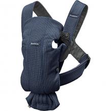 Купить рюкзак-кенгуру babybjorn mini mesh, тёмно-синий 11487695