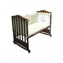 Купить бортик в кроватку сонный гномик пикник 170