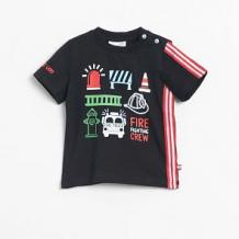 Купить футболка coccodrillo, цвет: черный ( id 12803284 )