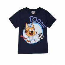 Купить футболка frutto rosso три кота, цвет: синий ( id 11319530 )