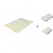 Купить forest подушка тонкая для малыша + одеяло + пододеяльник