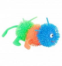 Антистресс игрушка Игруша Гусеница сине-оранжево-зеленая ( ID 7738351 )