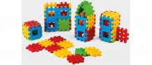 Купить конструктор marioinex вафельные блоки (48 деталей) 900260