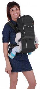 Купить рюкзак-кенгуру чудо-чадо babyacitve simple, цвет: черный ( id 742175 )