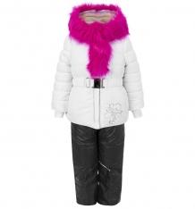 Купить комплект куртка/полукомбинезон boom by orby, цвет: белый 64346_bog вар.3