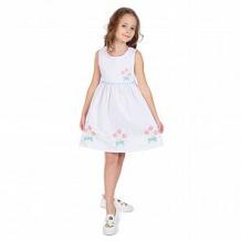 Купить платье малинка, цвет: белый ( id 11359156 )