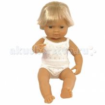 Купить miniland кукла мальчик европеец 38 см 31151