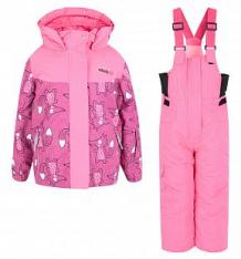 Купить комплект куртка/полукомбинезон fobs, цвет: фуксия ( id 9839484 )
