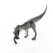 Купить hgl sv12430 игрушка фигурка тираннозавр ест брахиозавра