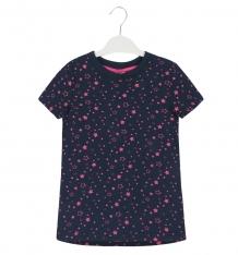 Купить футболка allini, цвет: синий ( id 9117613 )