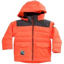 Купить куртка утепленная детская quiksilver mr men jk shocking orange оранжевый