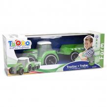 Купить трактор tooko на ик, с прицепом 81490