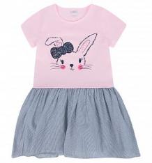 Купить платье fun time, цвет: розовый/серый ( id 10381874 )