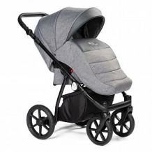 Купить прогулочная коляска bebizaro sport, цвет: серый ( id 12852622 )