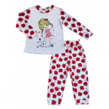Купить soni kids комплект лонгслив и брюки клубничка л9121017 л9121017