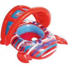 Купить лодочка для плавания bestway крабик, красная ( id 10878134 )