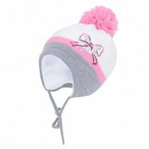 Купить шапка aliap, цвет: серый/розовый ( id 10976420 )