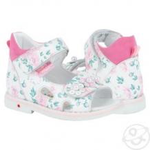 Купить сандалии bebetom, цвет: розовый ( id 11657950 )