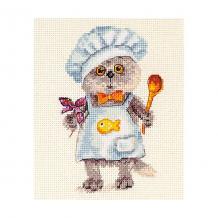 """Купить набор для вышивания алиса """"басик шеф-повар"""" 10х14 см ( id 16690809 )"""