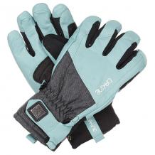 Купить перчатки сноубордические женские dakine odyssey glove mineral blue черный,голубой ( id 1190201 )