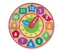 Купить сортер melissa & doug часы-сортировщик 8593
