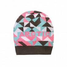 Купить шапка arctic kids, цвет: серый/розовый ( id 11309012 )
