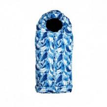 Купить мимими конверт в коляску морозные узоры, цвет: белый/синий/голубой ( id 11416984 )