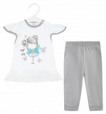 Купить комплект футболка/бриджи koala magiczna wrozka, цвет: белый ( id 8854501 )