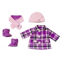 Купить zapf creation baby annabell 702-864 бэби аннабель одежда модная зима