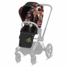 Купить набор чехлов прогулочного блока для коляски cybex priam iii fe spring blossom dark, многоцветный cybex 997162303