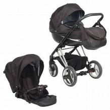 Купить коляска 2 в 1 bexa poland next silver, цвет: чёрный/серебряный ( id 10805705 )