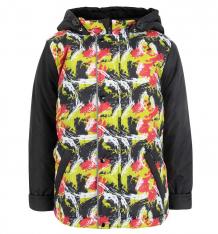 Купить куртка arctic kids, цвет: черный/красный ( id 6450049 )