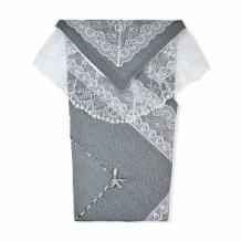 Комплект на выписку Решилье Leo, цвет: серый плед/пеленка/уголок плед 85х85 см ( ID 12595984 )