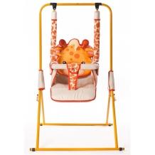 Купить качели bruca напольные animals жираф складные без тента
